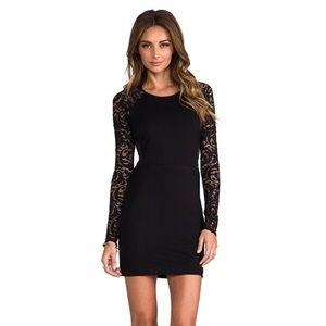Parker Vita long sleeve lace dress, Sz medium